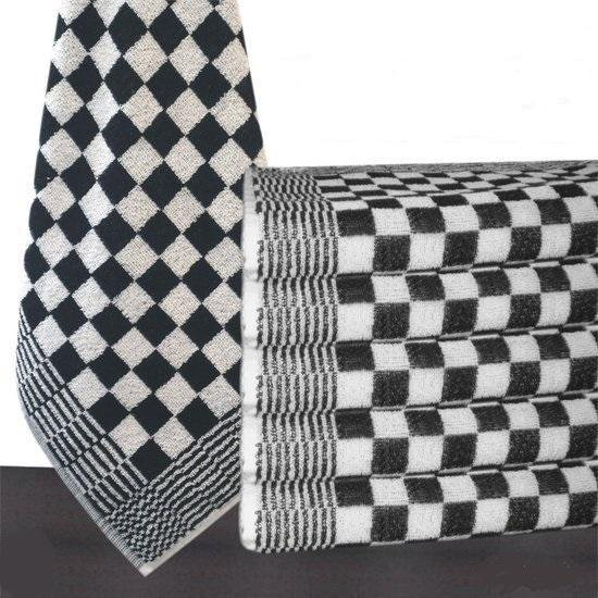 Keukendoek - Zwart - 6 stuks (50x50cm) |Homéé