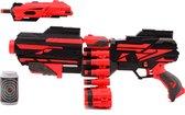 Tack Pro Attack 3 40 Darts Blaster 50 cm + Accesoires (darts incl)