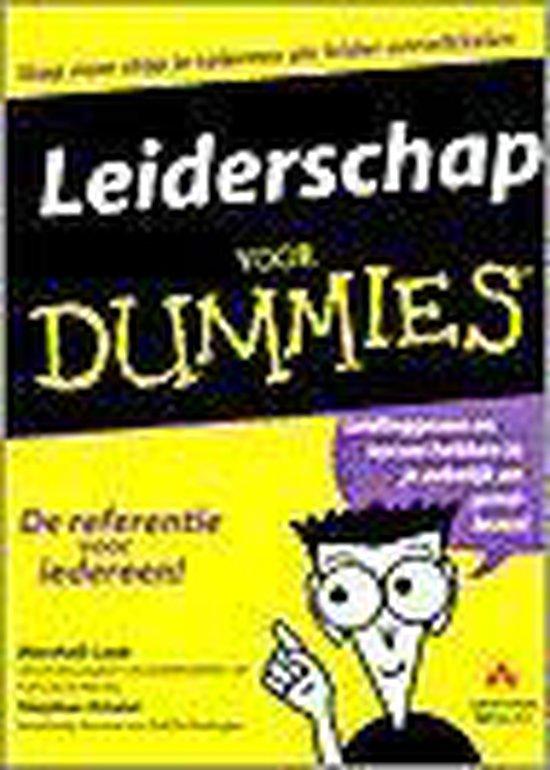 Leiderschap voor Dummies - M. Loeb pdf epub