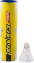 Carlton T800  - Badmintonshuttle - 6 stuks - wit