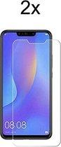 Huawei Mate 20 Lite Screenprotector Glas - Beschermglas Huawei mate 20 lite screen protector -  2 stuks