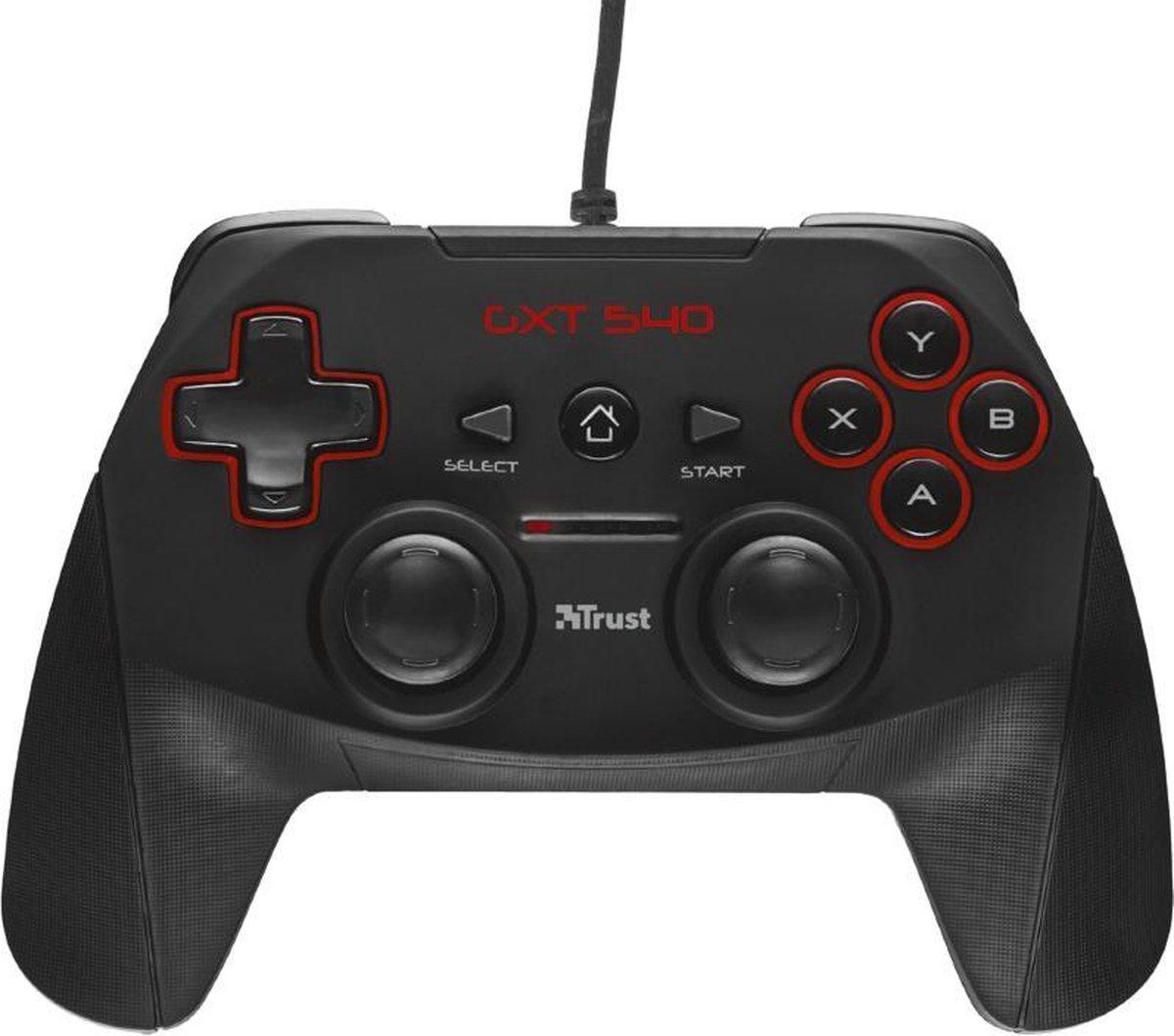 GXT 540 Yula Gamepad - Controller voor PC & PlayStation 3 - PS3 - Zwart