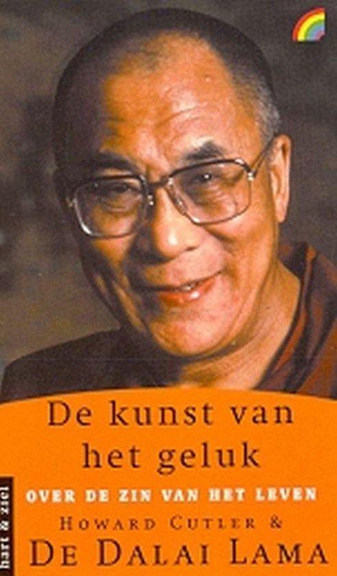 Cover van het boek 'De kunst van het geluk'