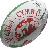 Gilbert rugbybal Wales supporter maat 5