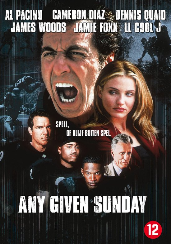 Cover van de film 'Any Given Sunday'