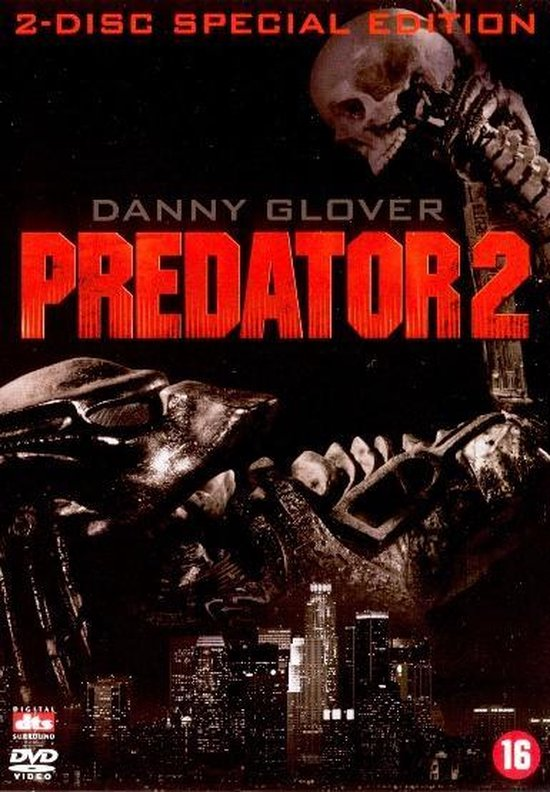 Cover van de film 'Predator 2'