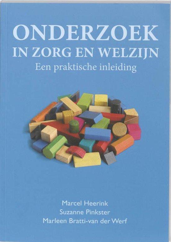 Onderzoek in zorg en welzijn - Marcel Heerink |