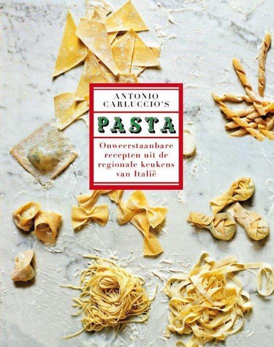 Boek cover Pasta van Antonio Carluccio (Hardcover)