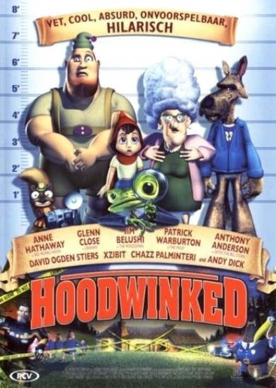 Cover van de film 'Hoodwinked'