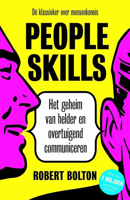 Boek cover People skills van Robert Bolton (Onbekend)