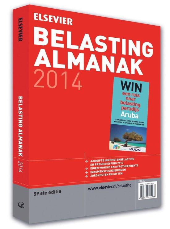 Elsevier belasting almanak 2014 - W. Buis |