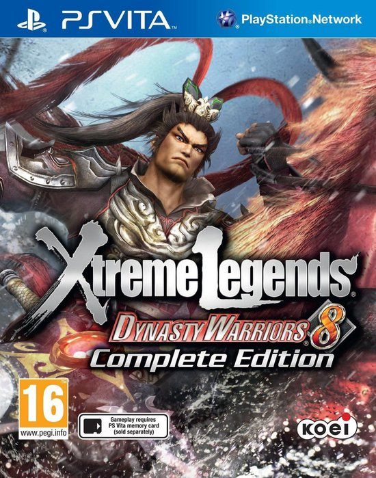 Dynasty warriors 8: xtreme legends - complete edition
