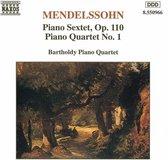Mendelssohn: Piano 6Tet/4Tet 1