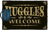 Harry Potter Muggles Welcome deurmat