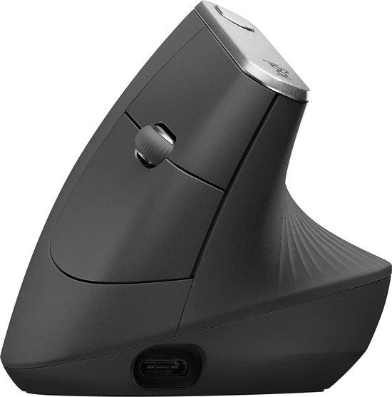 Logitech MX Vertical - Draadloze Ergonomische Muis