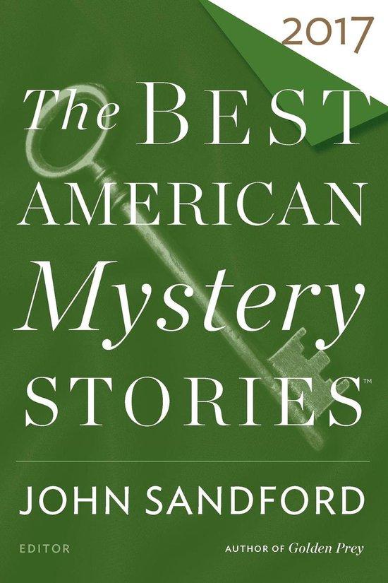 Omslag van The Best American Mystery Stories 2017