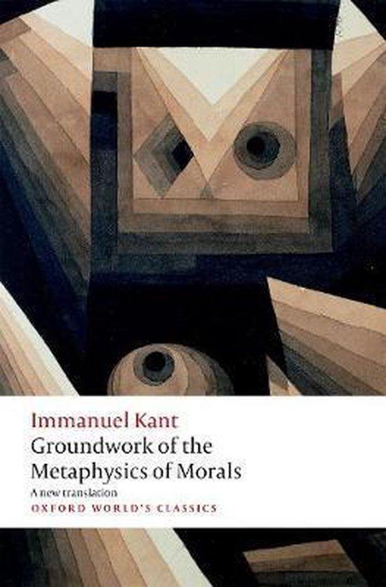 Boek cover Groundwork for the Metaphysics of Morals van Immanuel Kant (Paperback)