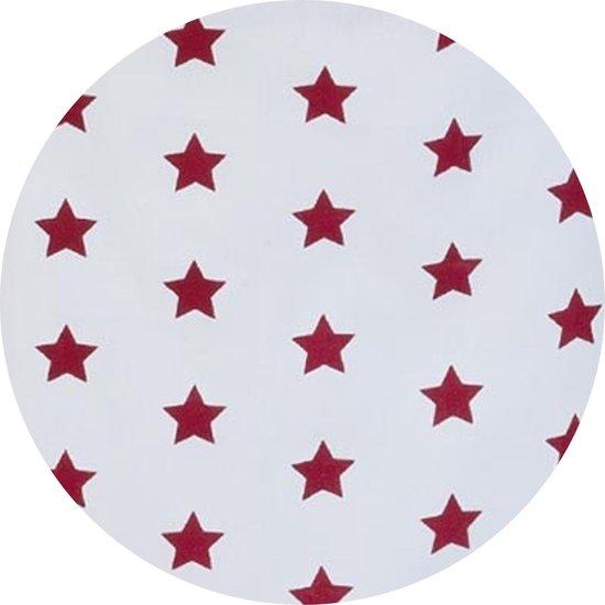 Keukenschort | 70*85 cm | Rood | Katoen | Ster | Clayre & Eef | CAS41R - Clayre & Eef