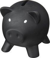 Zwart varken mini spaarpot/spaarvarken 9 cm - Dieren spaarpotten/spaarvarkens