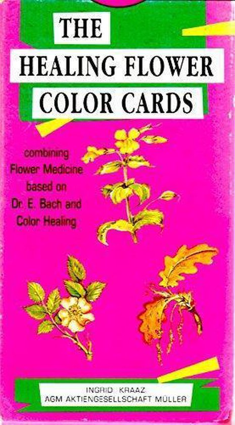 HEALING FLOWER COLOR CARDS - Onbekend |