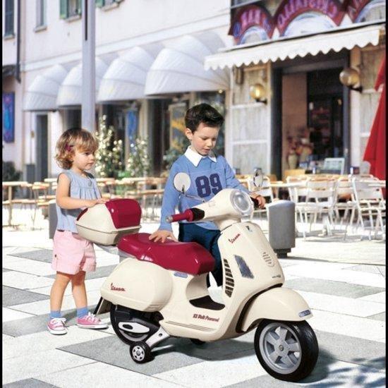 Imaginarium MOTO VESPA WHITE - Elektrische Scooter voor Kinderen - Vespa - Wit