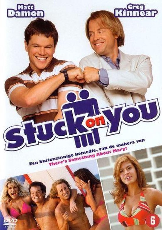 Cover van de film 'Stuck On You'