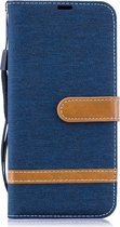 Samsung Galaxy A50 / A30s Hoesje - Denim Book Case - Blauw