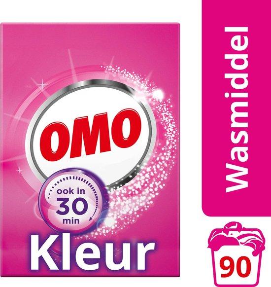 Omo Kleur Waspoeder - 90 wasbeurten - 5,13 kg - Wasmiddel