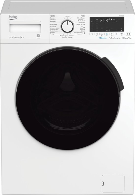 Beko WTV7740BSC - Wasmachine - NL/FR