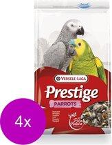 Versele-Laga Prestige Papegaaien - Vogelvoer - 4 x 1 kg