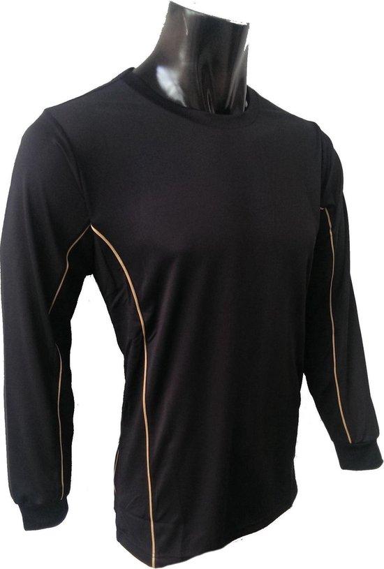 KWD Shirt Diablo lange mouw - Zwart - Maat 116
