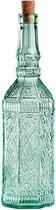Decoratieve fles met kurk - Glas
