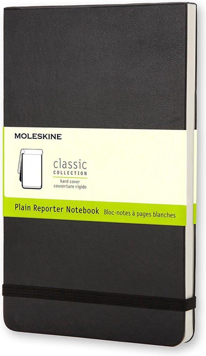 Moleskine Reporter Notebook - Pocket - Plain - Hard Cover