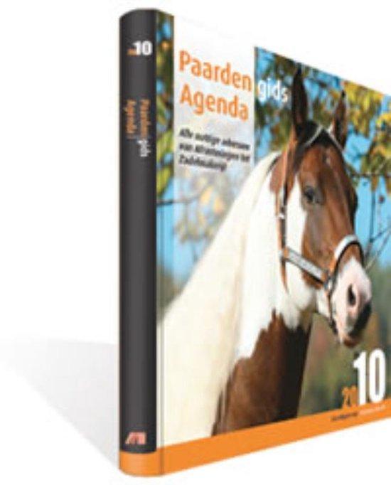 Cover van het boek 'Paardengids / Agenda 2010'