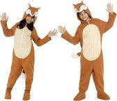 Onesie vos voor kids 115-128 (4-6 jaar)