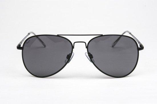 Haga Eyewear zonnebril Pilotenbril zwart