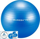 Trendy Sport - Professionele Gymnatiekbal - Fitnessbal - Bureba - Ø 75 cm - Blauw - 500 kg belastbaar - Tuv/GS getest