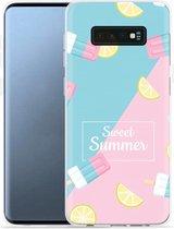 Galaxy S10e Hoesje Sweet Summer