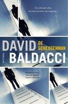 Boek cover De geheugenman van David Baldacci (Onbekend)