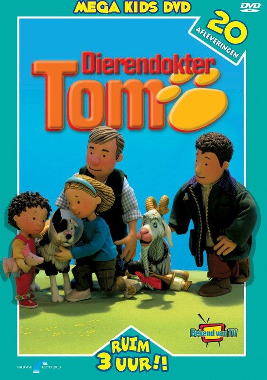 Cover van de film 'Dierendokter Tom Mega Kids DVD'