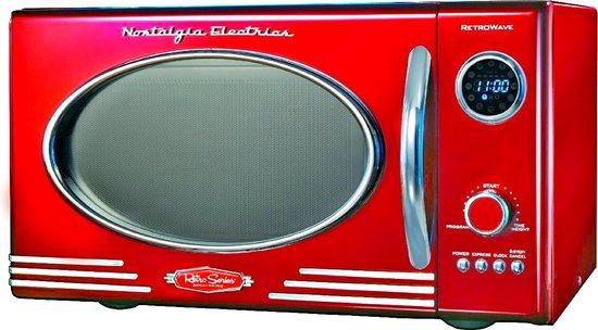 Nostalgia Electrics RMO400 Magnetron Rood