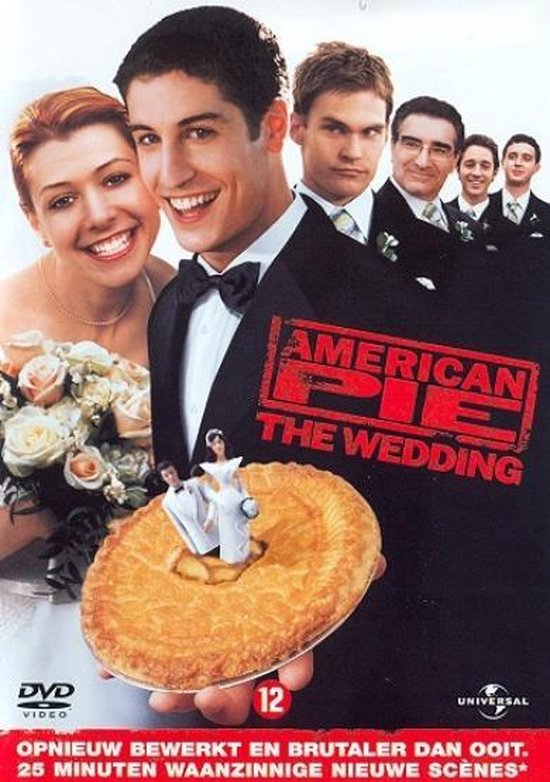 Cover van de film 'American Pie 3: The Wedding'