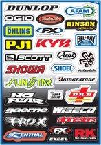 Factory Effex Stickervel Sponsor Kit A