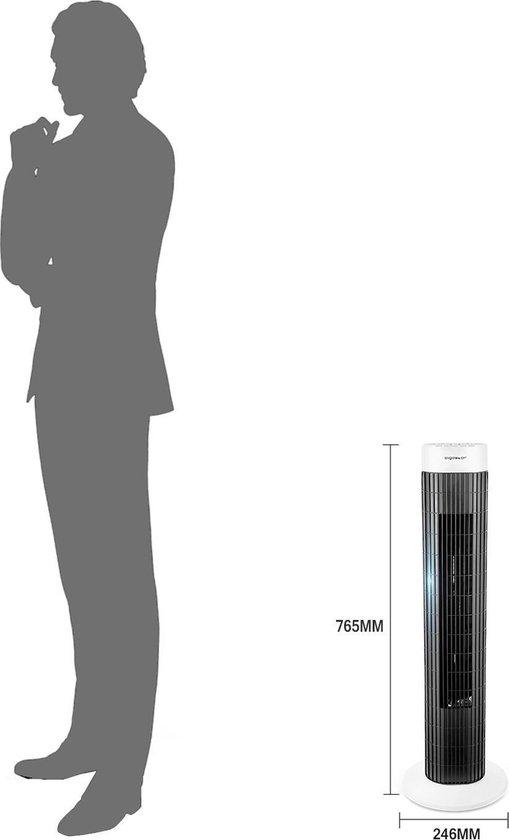 Aigostar Ben Torenventilator - Zwart