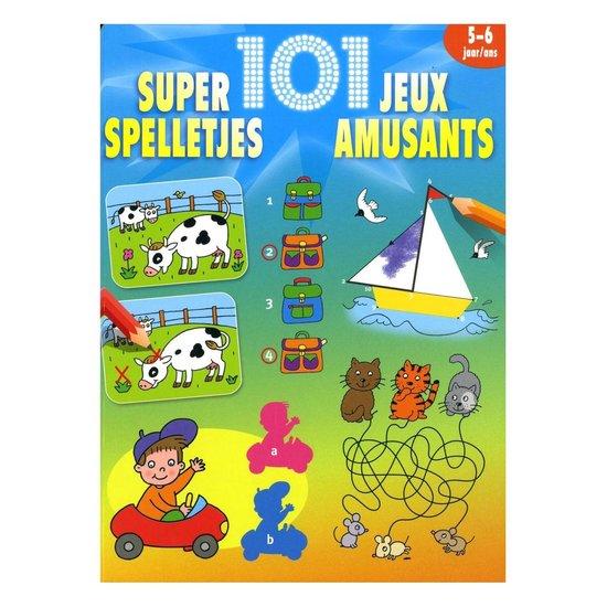 Cover van het boek '101 super spelletjes 5-6 jaar'