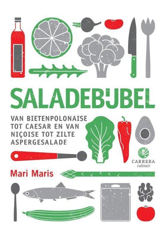 Boek cover Kookbijbels - Saladebijbel van Mari Maris (Hardcover)