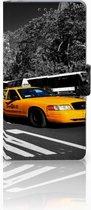 Sony Xperia Z Uniek Hoesje met Opbergvakjes New York Taxi