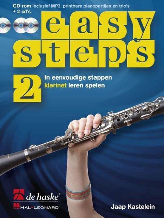 Easy Steps deel 2 methode voor Klarinet - J.J.P. Kastelein |