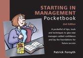 Boek cover Starting in Management Pocketbook van Patrick Forsyth