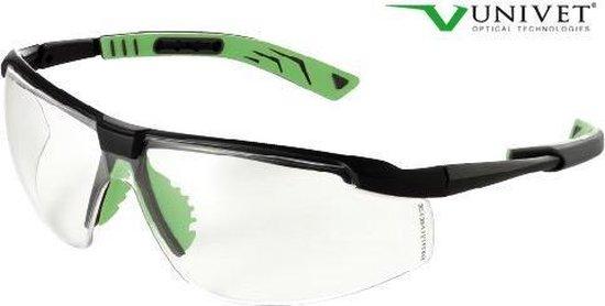 Univet veiligheidsbril type 5X8 Clear